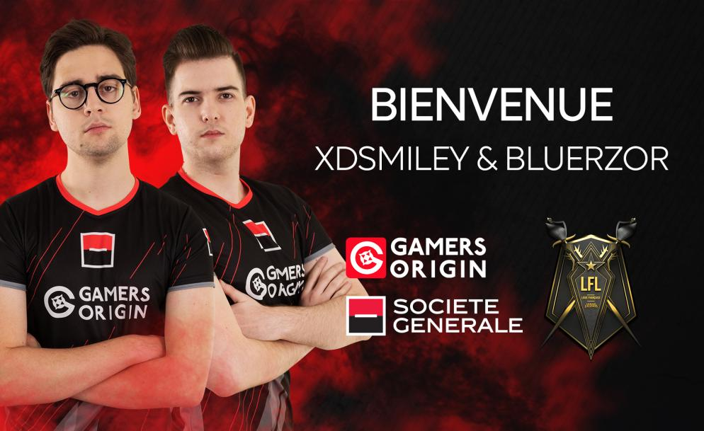 Meet our new LoL roster! - GamersOrigin eSports